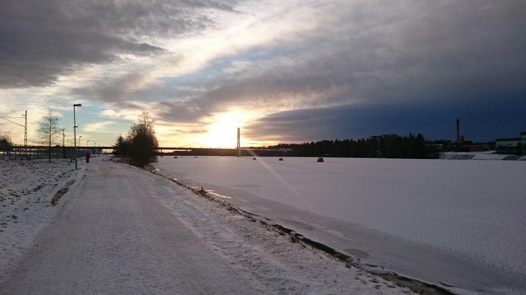 Umea Sonnenuntergang 2