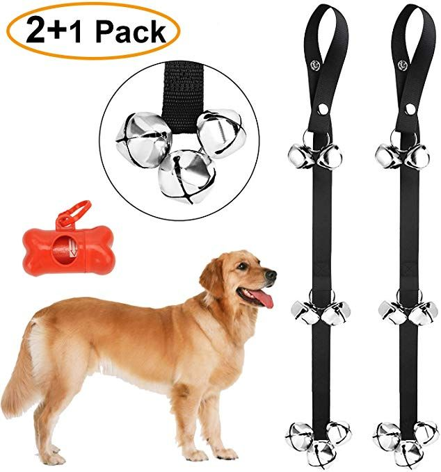 Mgkpet 2 Pack Dog Doorbell For Potty Training Dog Door Bell Dog