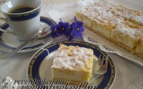 Királyi sütemény recept fotóval