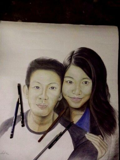 Drawing pencil 50cm x 60cm  Created by: Riky def 08/2014