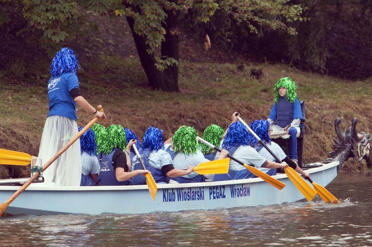 Wrocław's dwarfs also paddled!