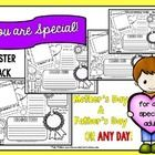 "Say Happy Mother's Day or Happy Father's Day to any special adult in your life with these generic style ""You are Special.. Have a Happy Day"" poster..."
