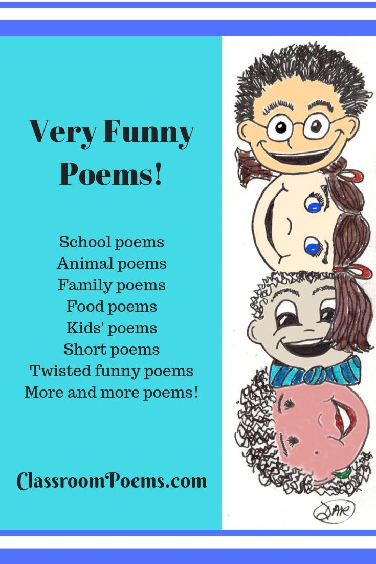 Very Funny Poems Funny Poems For Kids Funny Poems Kids Poems