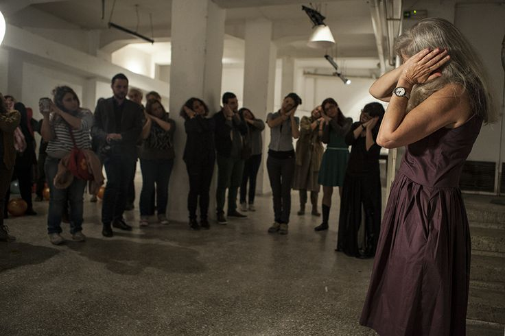 Photo…graphy: festival performance: Tamar Raban L.E.P.P. (Lesson on Performance in English)
