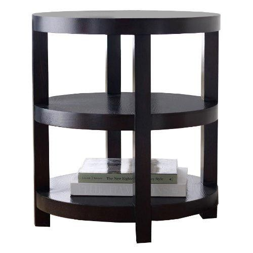 Abbyson Living Adam's Morgan Round End Table  For over two generations the Abbyson family name has been synonymous with comfortable elegance, creative inspiration and a passionate commitment to excellence. Time and again Abbyson has honored the promise of its name by continually providing its customers with superior products and service.
