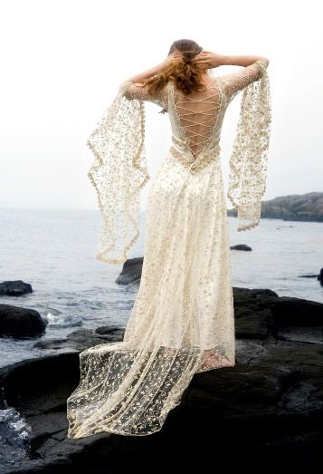 For A Fantasy Themed Wedding Katherine Feiel Gowns Gilded Lily