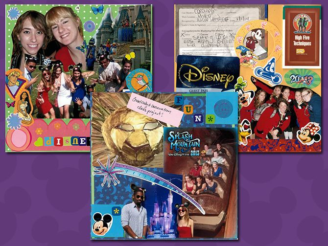 Getting crafty with a Disney Programs scrapbook – Disney Internships & Programs Blog