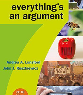 Everything's an Argument with 2016 MLA Update PDF