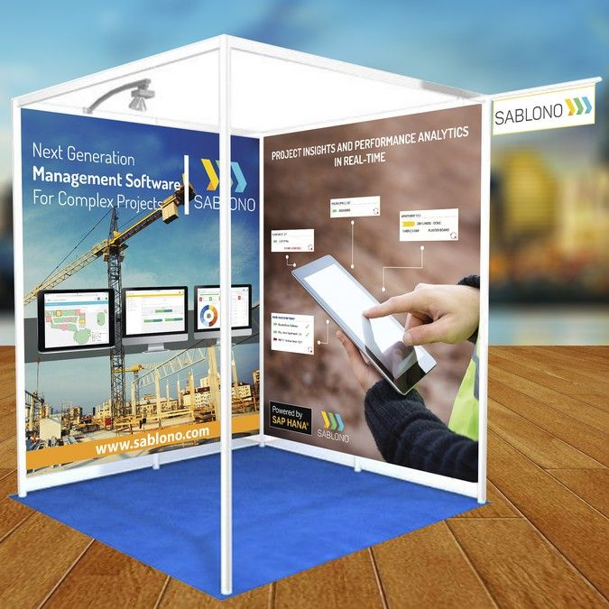 Construction Software Startup needs a Trade Show Banner by Vimal Teja