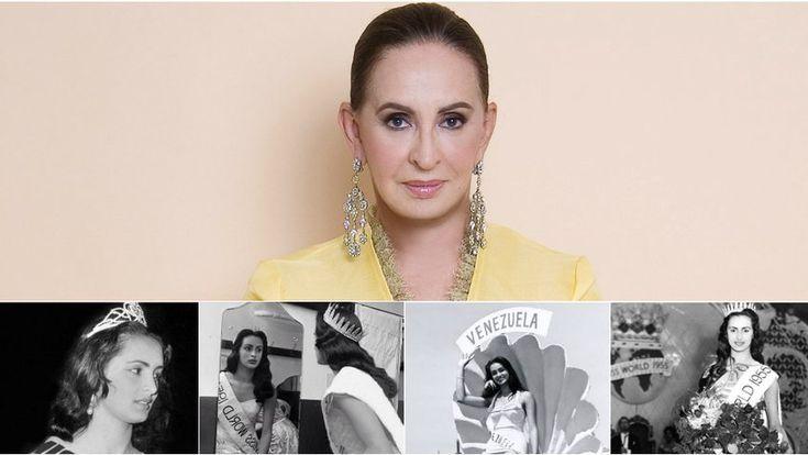 """Este sábado falleció a los 79 años de edad la primera latinoamericana en ganar el concurso internacional """"Miss Mundo"""", Carmen Susana Duijm Zubillaga, tras sufrir un Accidente Cerebro Vascular"""