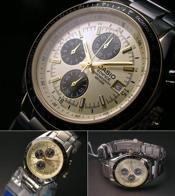 CASIO EDIFICE CHRONOGRAPH WATCH EF-503SG-9AVDF [EF-503SG-9AVDF] : GOLDEN8TS