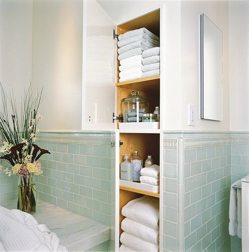 10 простых способов компактного хранения полотенец в ванной
