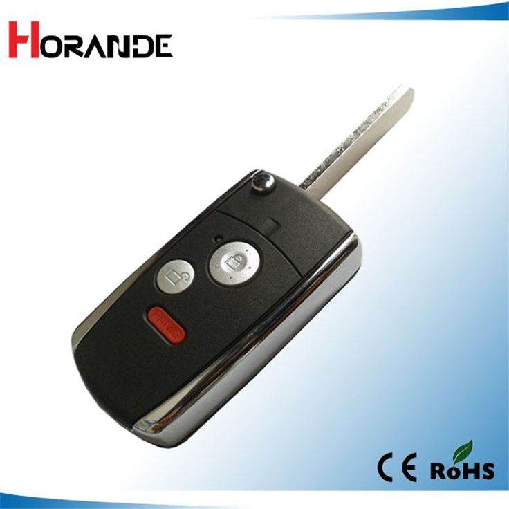 Horande folding car remote key flip shell case for honda
