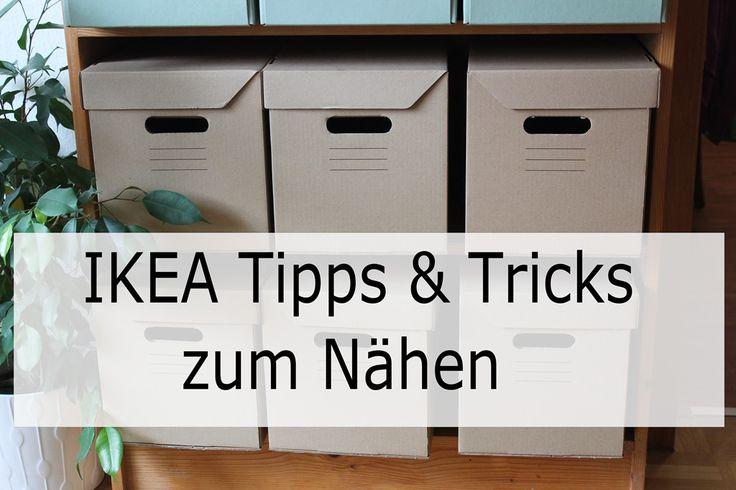IKEA Tipps & Tricks zum Nähen. IKEA Einkaufen fürs Nähen. Nähsachen bei IKEA. Über 10 Tipps & Tricks die du bei IKEA kaufen kannst.