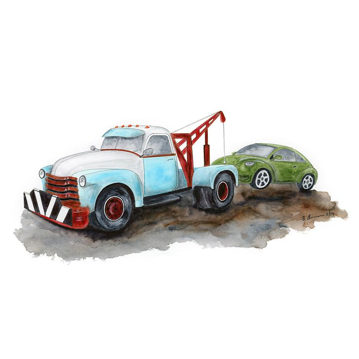 Tow Truck Painting