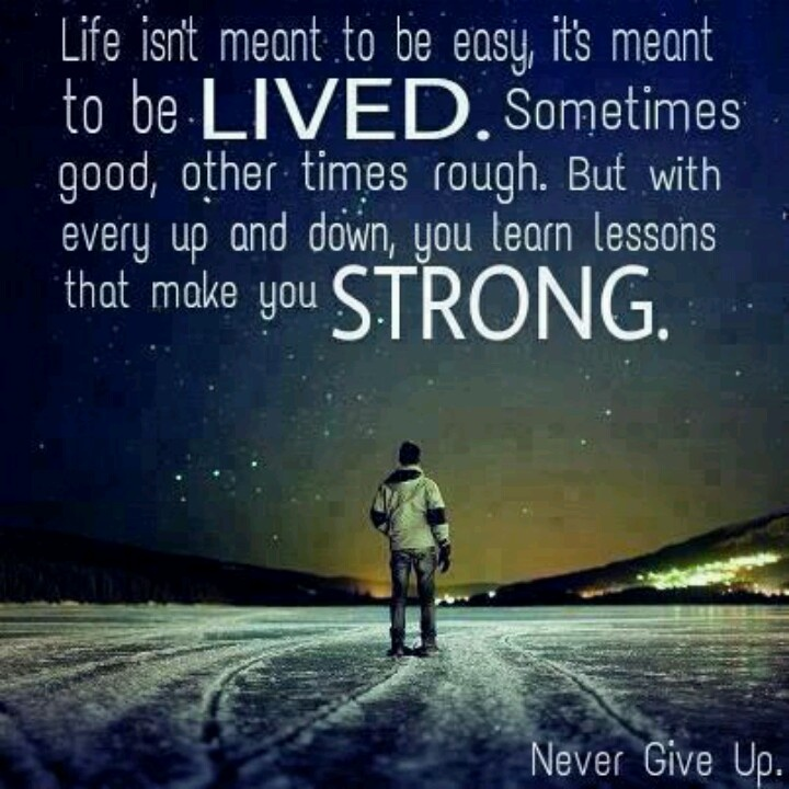 Never Give Up Love Quotes Sayings: Never Give Up....