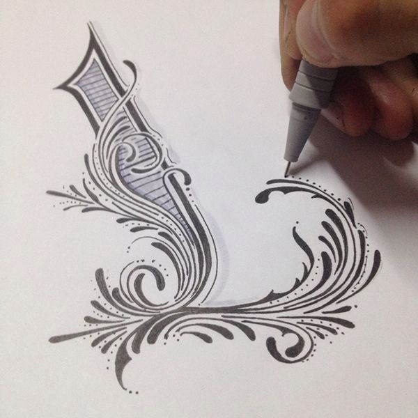 ❤️Gorgeous Hand Letter