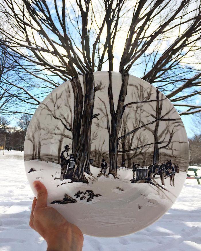 Sanatlı Bi Blog Gezileri Sırasında Fotoğrafı Tabağıyla Tamamlayan Sanatçı: 'Jacqueline Poirier' 21