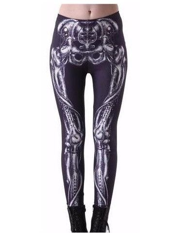 Goth Skeleton Leggings
