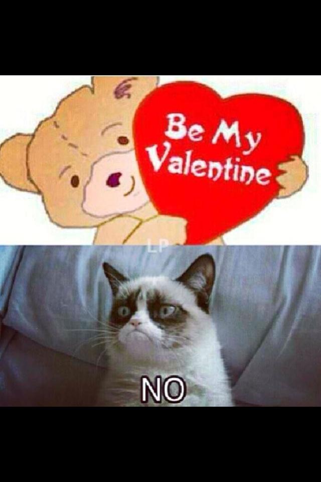 grumpy cat valentines day - Grumpy Cat Valentine