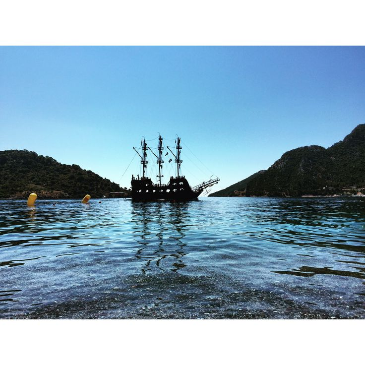 #sea #sky #turkey #ship #summer #marmaris #içmeler #beach #sky
