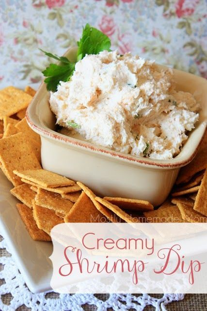 This simple dip combines cream cheese, celery, onion, and shrimp for a perfect and addictive party appetizer!