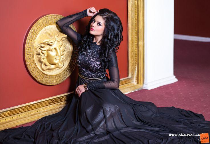 Medini Original: Вечернее платье Сады Семирамиды || Одежда оптом: CHIA | ЧИА. Оптовая продажа женской, мужской и детской одежды в Киеве и по всей Украине