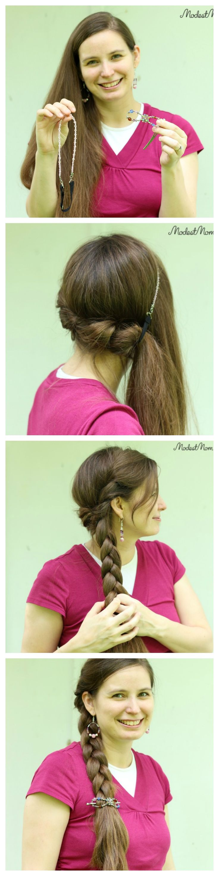 A Twisted Side Braid Tutorial Add A Little Extra Touch To A Regular Braid  And
