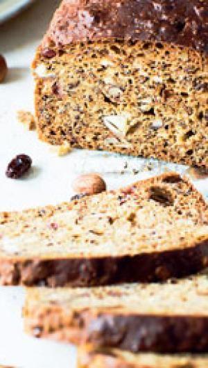 Energibrød med nødder og hørfrø | ISABELLAS