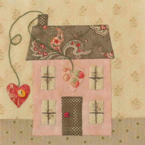 """The best way to learn how to applique is to start with an easy block and jump right in! The Fat Quarter Shop's made that """"sew"""" easy for you! They carry all the applique tools, A…"""