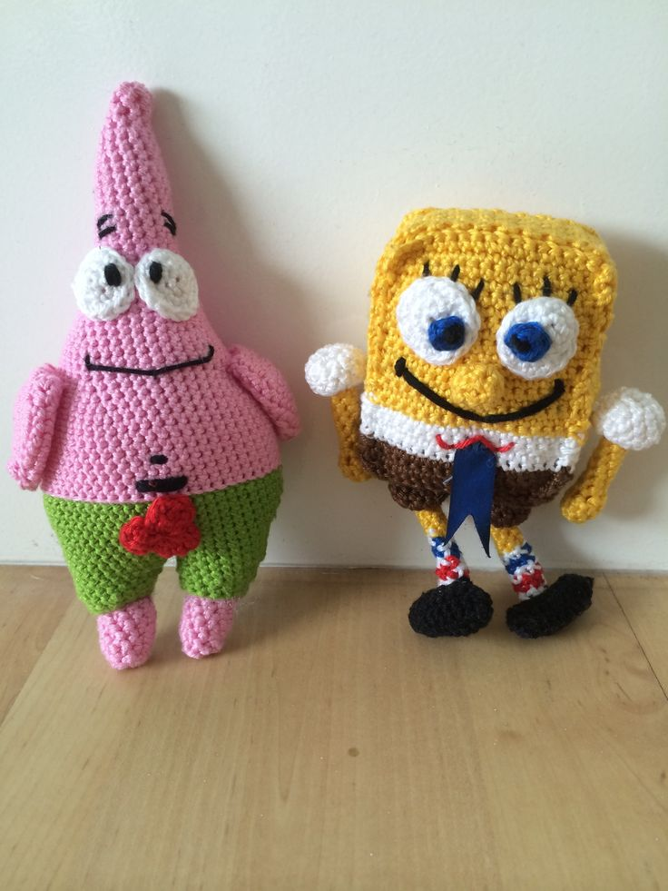 Patrick Ster & SpongeBob. I made it finally!