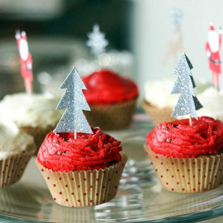 Jingle all the Way, Meri Meri Cupcake set