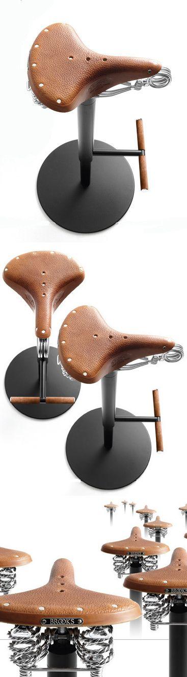 Our Bike Stool for Bross,by the Italian designer Enzo Berti.