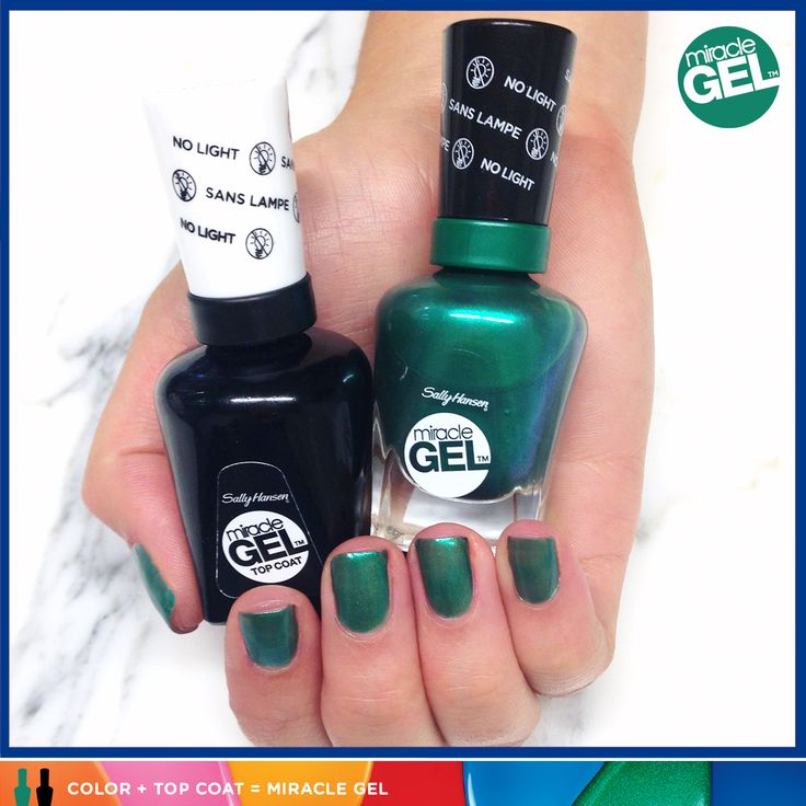 Luxury Think of the Miracle Gel top coat and polish as gel mani BFFs They don ut associate with UV light
