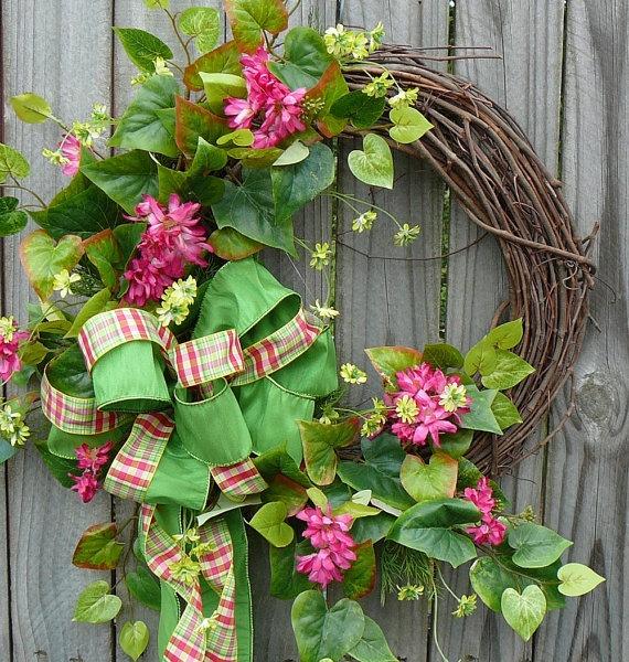 22 best Other Silk Wreaths I LOVE! images on Pinterest | Flower ...