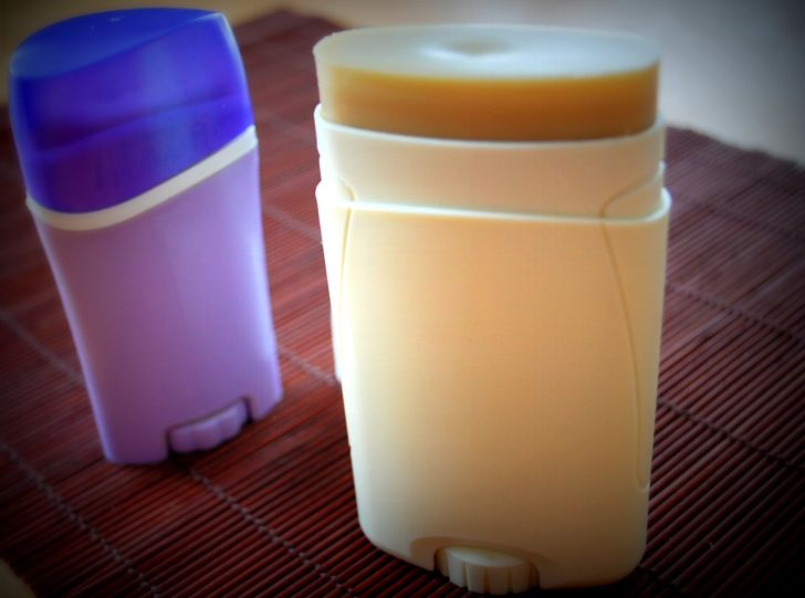 muchas recetas de desodorante casero