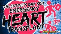 Valentine's Day Skit: Emergency Heart Transplant   I Love Kids Church