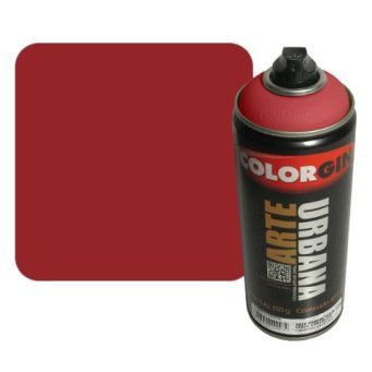 Colorgin Arte Urbana - 919 Vermelho Ferrari - 400 ml - Real Vandal Graffiti