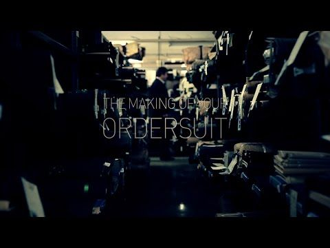 HANABISHI The making of your OrderSuit - YouTube