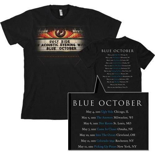 Blue October Sway Tour Shirt
