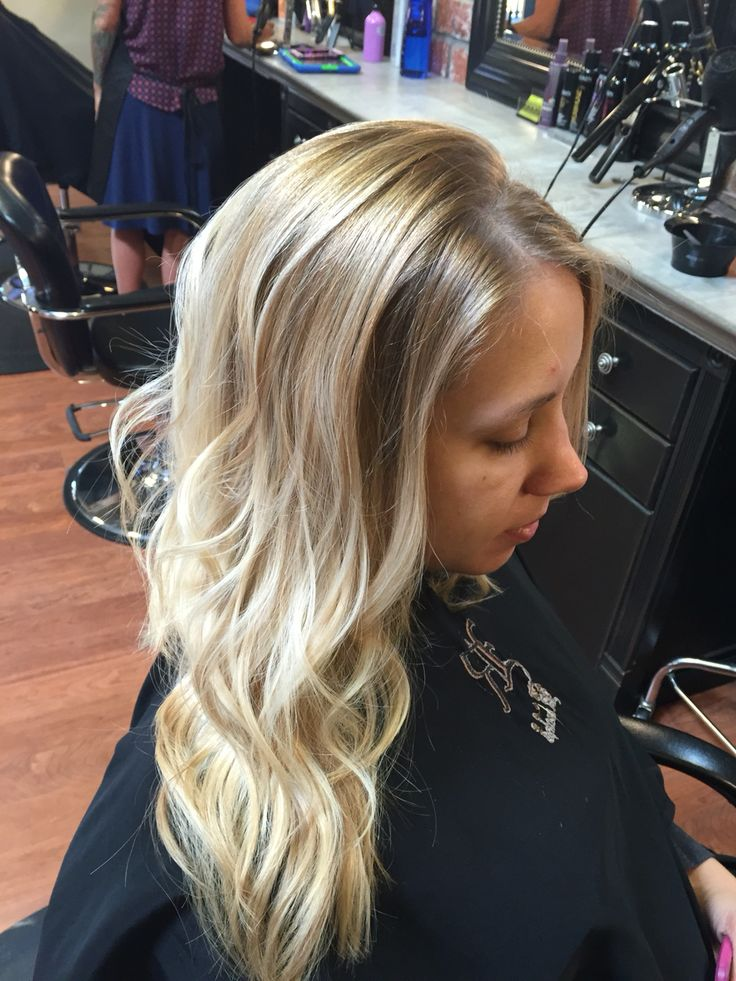 Blonde Balayage Ombré by Rachel La'Roux