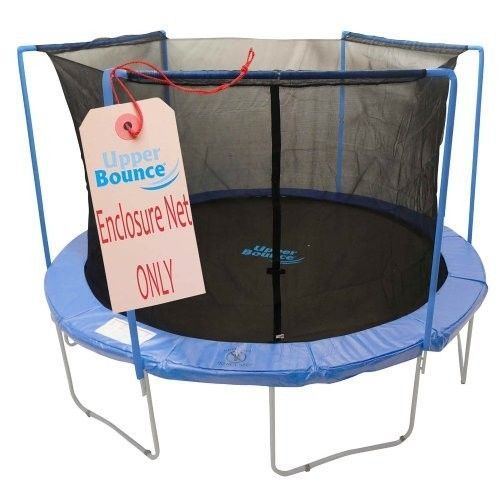 Trampoline Safety Net Replacement Enclosure Round 14 Foot 4 Arch With Sleeves #UpperBounce
