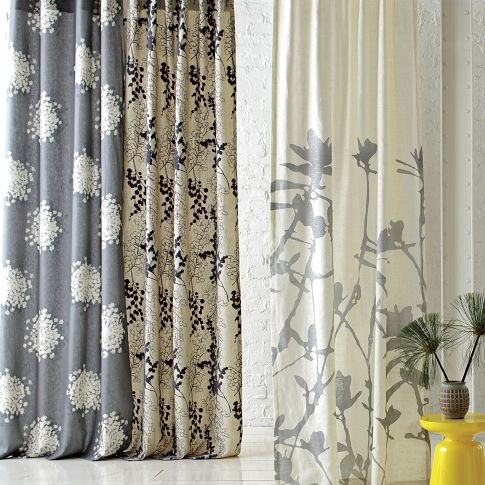 West Elm curtains - I want all of these
