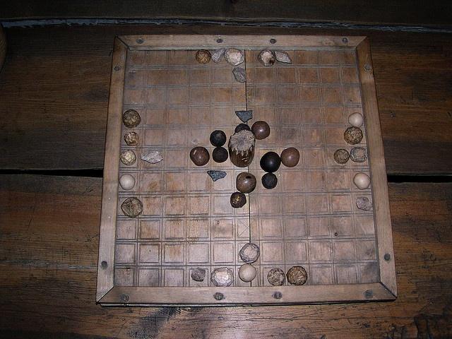 Borg Viking Museum board game
