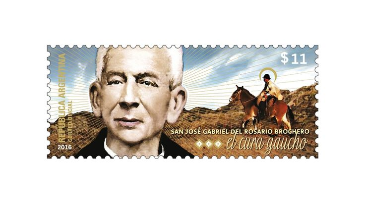 COLLECTORZPEDIA Canonization of the Priest José Gabriel Brochero