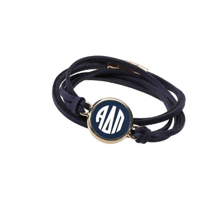 Have you seen? Alpha Delta Pi Br... Shop http://manddsororitygifts.com/products/alpha-delta-pi-bracelet-wrap-gold?utm_campaign=social_autopilot&utm_source=pin&utm_medium=pin