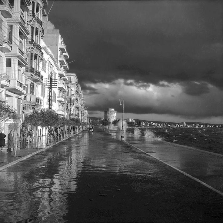 Η Λ.Νίκης, ποτάμι μετά από νεροποντή, από τον φακό του Γιάννη Κυριακίδη