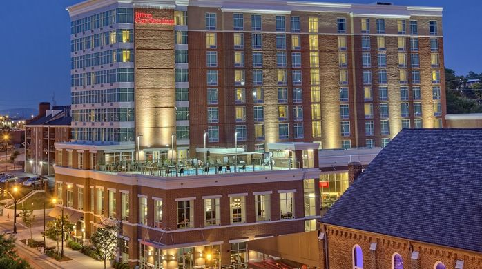 Hilton Garden Inn Nashville Downtown/Convention Center Hotel, TN - Exterior
