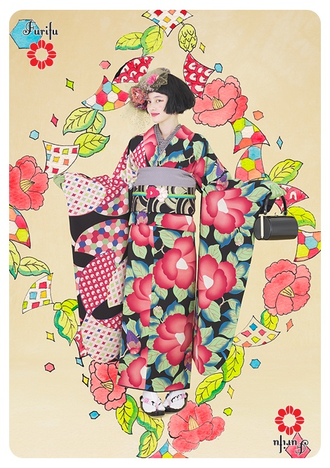 kimono Furifu 2012Autumn  http://www.furifu.com/collection/#