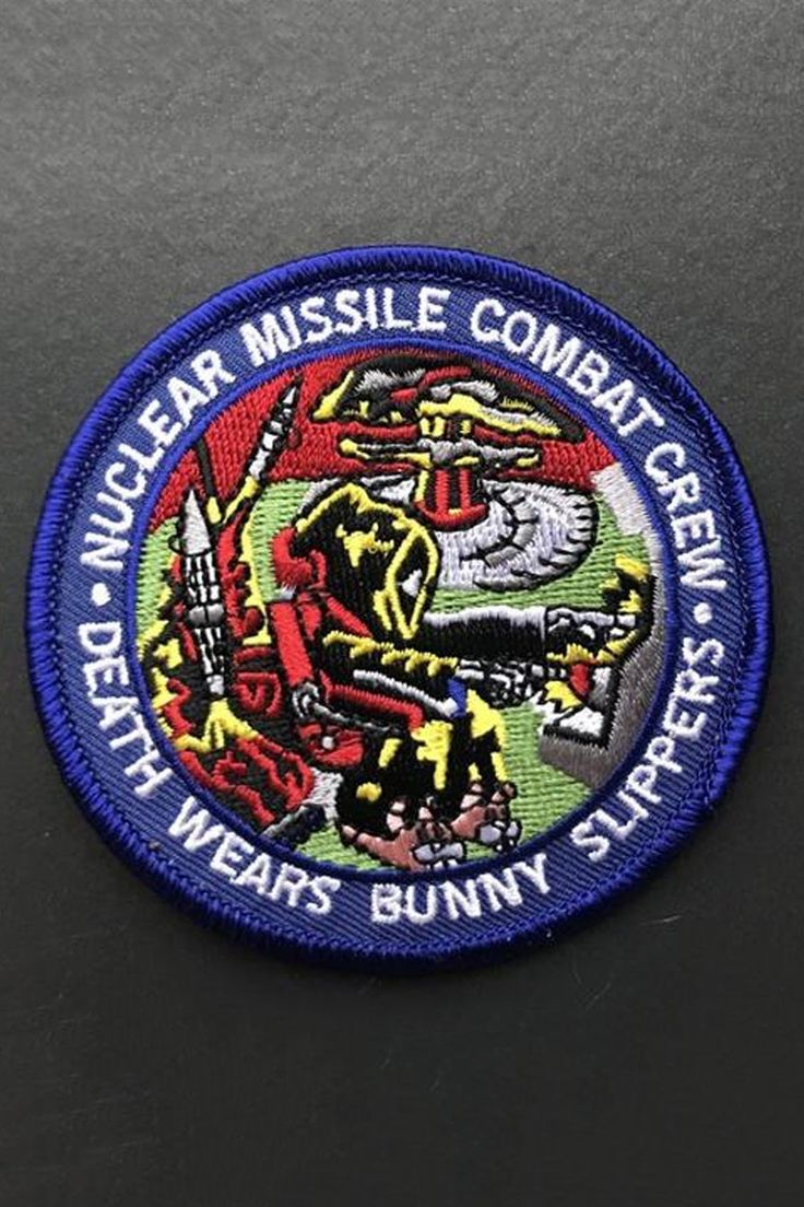 Strike Gently Co. Nuclear Patch Patches, Iron on
